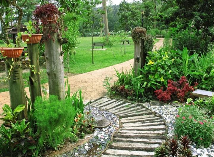 zdj cie nr 9 alejki w ogrodzie inspiracje galeria projektowanie ogrod w ogr d. Black Bedroom Furniture Sets. Home Design Ideas