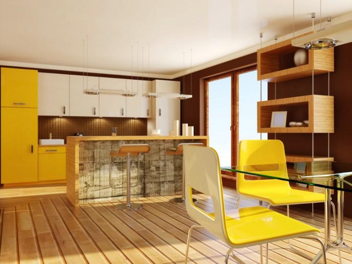 Jak dobrać fronty szafek w kuchni?  Projekt kuchni i   -> Kuchnia Letnia Prawo Budowlane