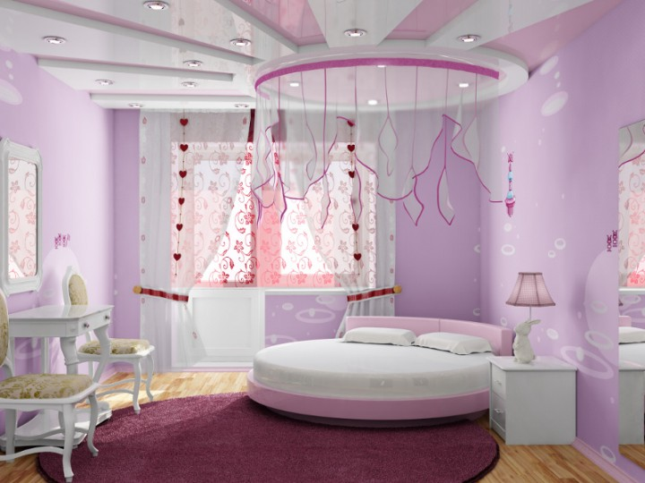7 Inspiring Kid Room Color Options For Your Little Ones: Nowoczesne łóżka Z Baldachimem: GALERIA