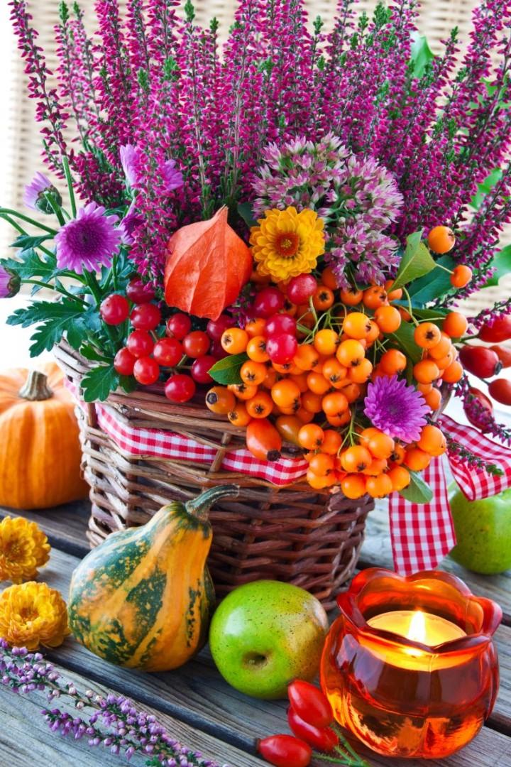 Kompozycje z wrzosami inspiracje ciekawostki kwiaty doniczkowe - Herbstdekoration 2017 ...