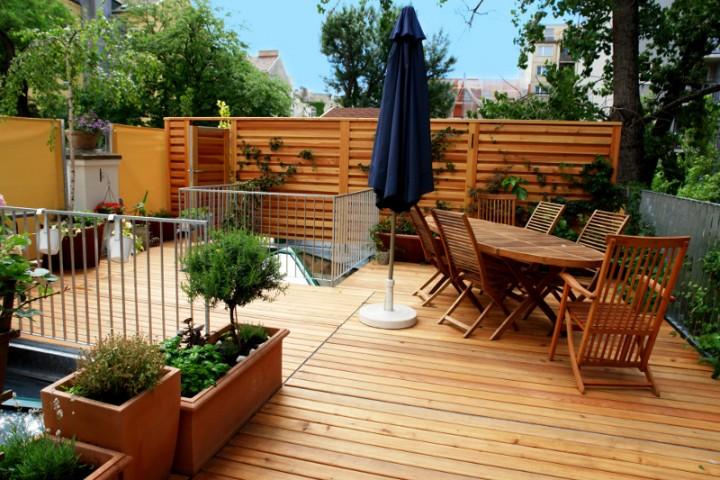 zdj cie nr 7 tarasy drewniane inspiracje galeria projektowanie ogrod w ogr d. Black Bedroom Furniture Sets. Home Design Ideas
