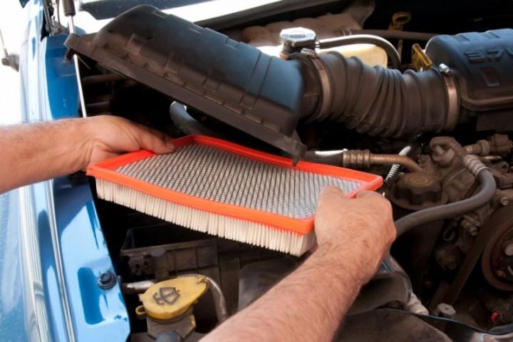 Modish Wymiana filtra powietrza i filtra kabinowego Renault Laguna II YM61